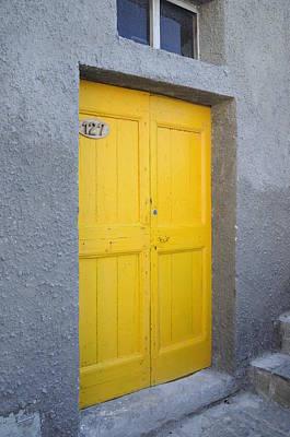 Italy - Door Three Art Print
