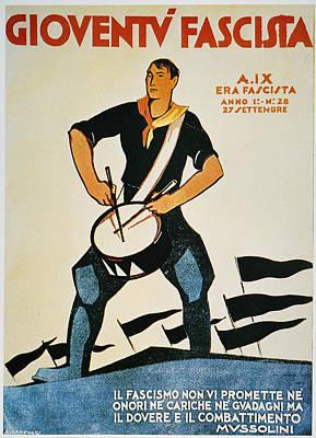 Italy: Fascist Magazine Art Print by Granger