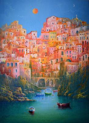 Painting - Impressions Of Italy   by Joe Gilronan