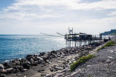 Italy - The Trabocchi Coast 2  Art Print