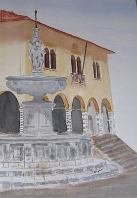 Painting - Italy, Vittorio Veneto by Elvira Ingram