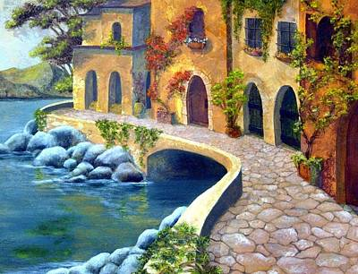Painting - Italy's Hues 2 by Leslie Rhoades
