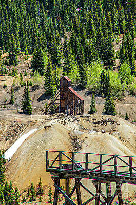 Photograph - Iterade Mine by Stephen Whalen