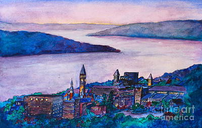 Painting - Ithaca Ny by Melanie Stanton