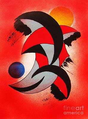 Painting - Ito-kina Doryoku by Roberto Prusso