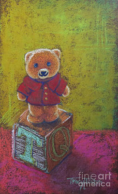 Pastel - It's A Bear's World by Tracy L Teeter
