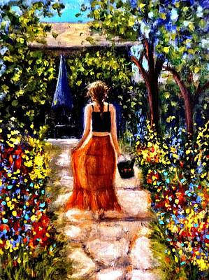 Painting - It's A Beautiful Day.. by Cristina Mihailescu