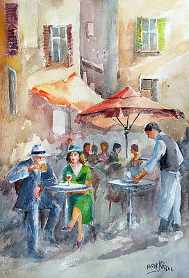 Painting - It's A Beautiful Day by Faruk Koksal