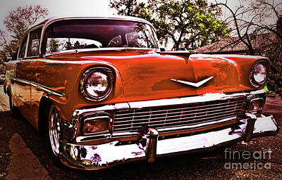 Photograph - It's A Chevy by Nancy Chambers