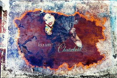 Smoker Painting - It's A Date With Chesterfield by Leon Bonaventura and Filiberto Bonaventura