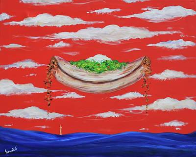 Painting - It's A Happy Enchilada And You Think You're Gonna Drown by Art Enrico