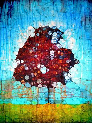 It's A Hard Life For A Tree Art Print by Tara Turner