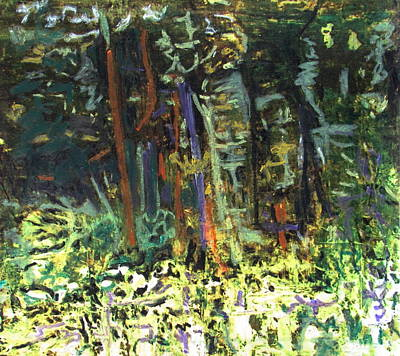 It's A Jungle Out There Original by Betty Pieper