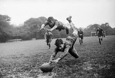 Rugby Photograph - It's A Try ! by Express