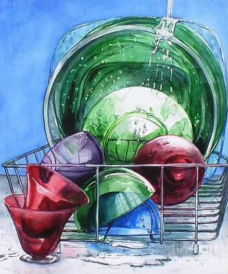 Painting - Its A Wash by Jane Loveall