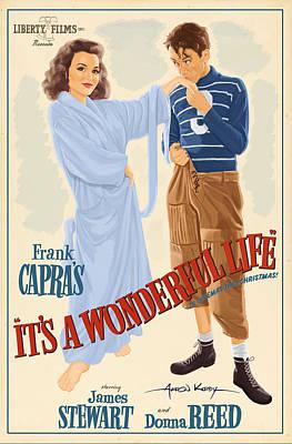 It's A Wonderful Life Poster Art Print