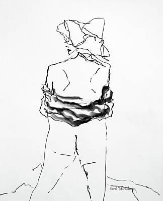 Painting - It's A Wrap by Carol Schindelheim