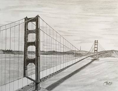 Drawing - It's All About Perspective  by Tony Clark