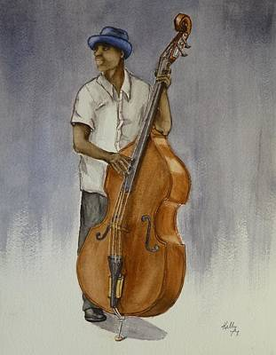 Painting - It's All About The Bass by Kelly Mills