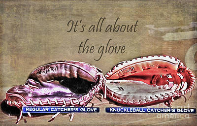 Photograph - It's All About The Glove by Nina Silver