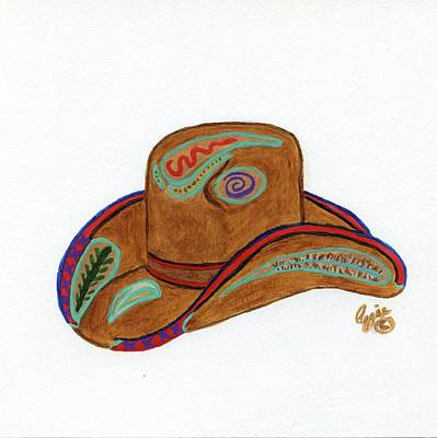 Painting - It's All About The Hat by Stephanie Agliano