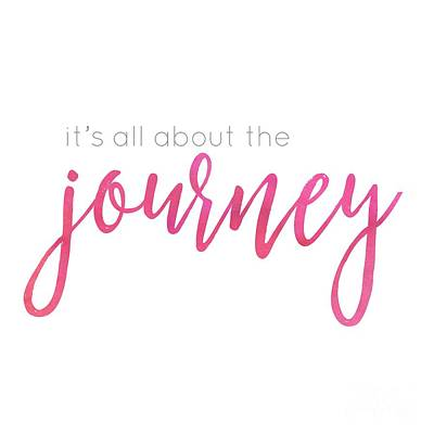 Digital Art - It's All About The Journey by Laura Kinker