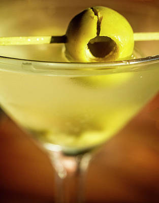 Martini Royalty-Free and Rights-Managed Images - Its All About the Olive by David Kay