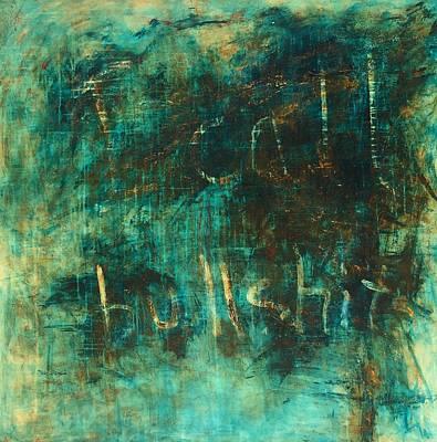 Painting - It's All Bullshit by Valerie Greene