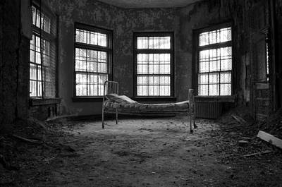 Asylum Photograph - It's All In Your Head by Luke Moore