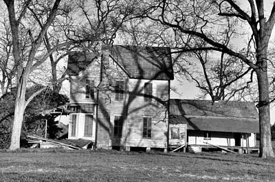 Old House Photograph - It's Been Awhile by Jan Amiss Photography