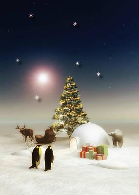 Painting - It's Christmas Time by Jan Keteleer