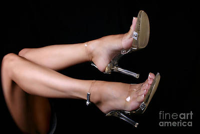 Sexy Toes Photograph - It's Clear by Deelite Photography