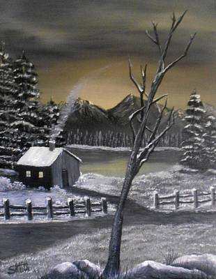 Painting - It's Cold Outside by Sheri Keith