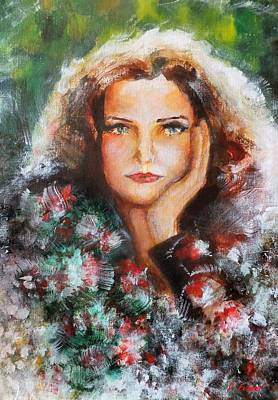 Painting - Flora by Denise Fulmer