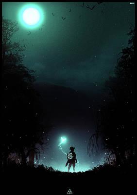 Halloween Digital Art - It's Dangerous To Go Alone by Colin Morella