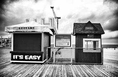 Seaside Heights Photograph - Its Easy by John Rizzuto