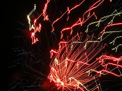 Its Electric Art Print by James and Vickie Rankin
