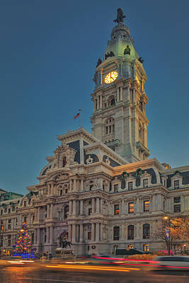 Photograph - It's Five O'clock In Philly by Susan Candelario