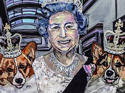 It's Good To Be The Queen Original by Paula Baker