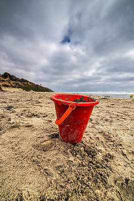 Its Good You Went To The Beach You Look A Little Pail Print by Peter Tellone