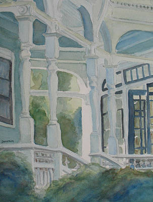 Queen Anne Painting - It's Greener On The Other Side by Jenny Armitage