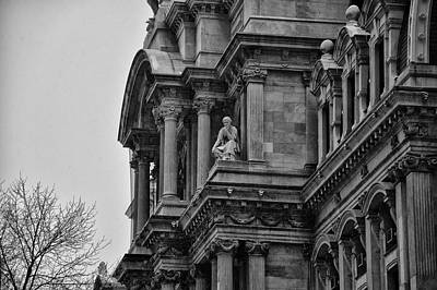 It's In The Details - Philadelphia City Hall Art Print by Bill Cannon