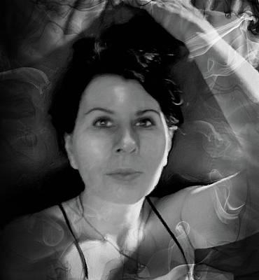 Study Mixed Media - It's In The Eyes by Georgiana Romanovna