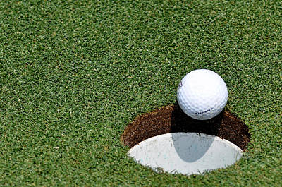 Putt Photograph - It's In The Hole by Shawn Wood