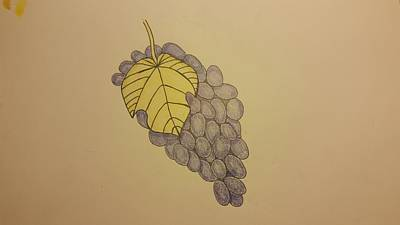 It's Just Grapes... Art Print by Andrew Rice