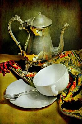 It's Just Tea Art Print by Diana Angstadt
