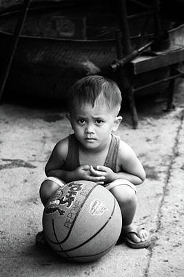 Photograph - It's My Ball And I'm Going Home by Jez C Self