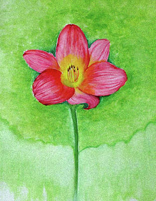 Painting - It's My World by Anjali Vaidya