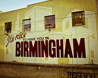 Photograph - It's Nice ... by Just Birmingham