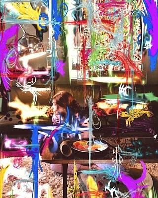 Digital Art - It's Not The End Of The Fucking World by Steve Swindells